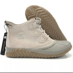 - Sorel Out N About in Soft Taupe Rain Duck boot